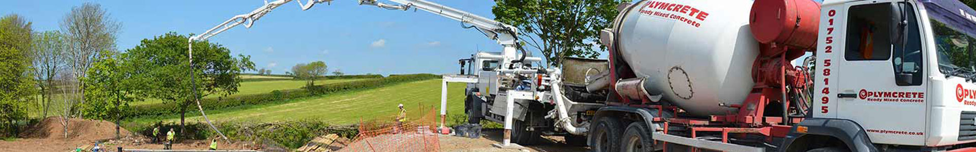 Ready Mix Concrete te for Agricultural Use from the leading Concrete Supplier in Plymouth Devon and Cornwall