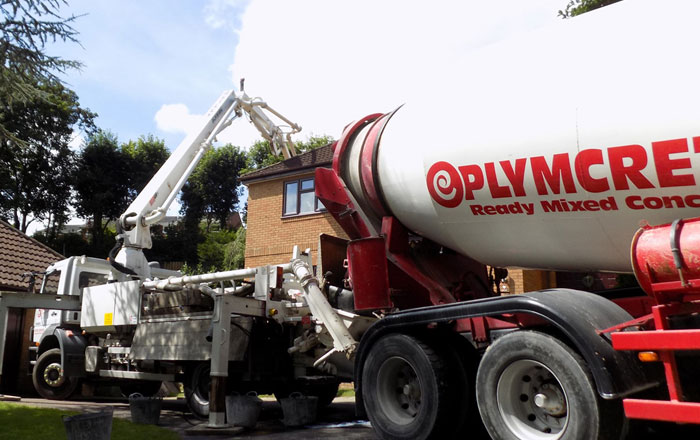 Concrete Pumping Cornwall from a leading Concrete Supplier in Cornwall, Volumetric on site Concrete